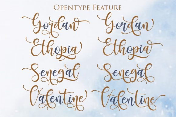 Print on Demand: Santhin Script & Handwritten Font By Gilar Studio - Image 6