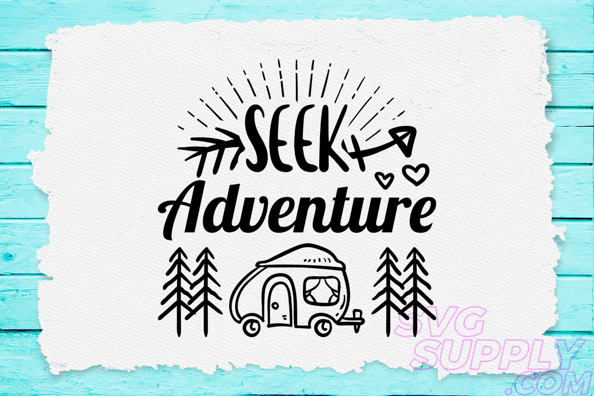 Download Free Seek Adventure Camp Graphic By Svgsupply Creative Fabrica for Cricut Explore, Silhouette and other cutting machines.