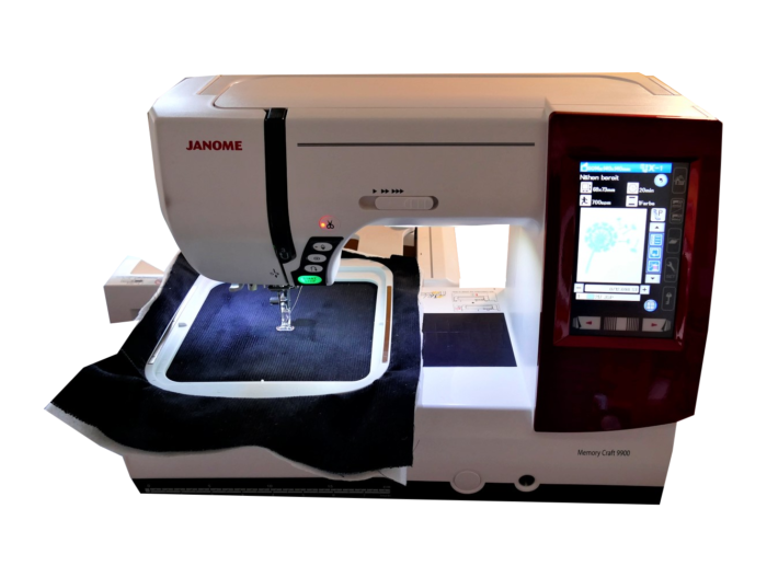 janome embroidery machine functioning