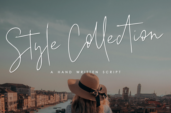 Print on Demand: Style Collection Script & Handwritten Font By enyaaa90