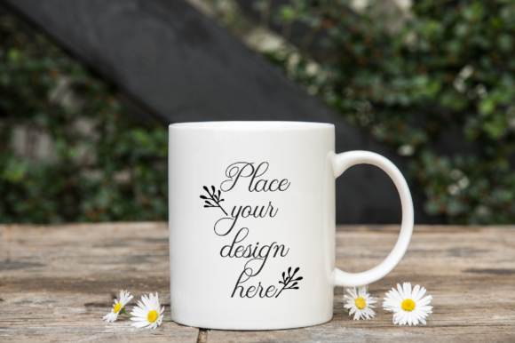 Print on Demand: Sublimation Coffee 11oz Mug Mockup Graphic Product Mockups By Leo Flo Mockups - Image 1