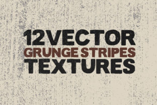Print on Demand: Vector Grunge Stripes Textures X 12 Graphic Textures By SmartDesigns
