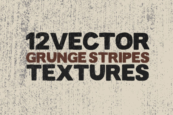Vector Grunge Stripes Textures X 12 Graphic Textures By SmartDesigns