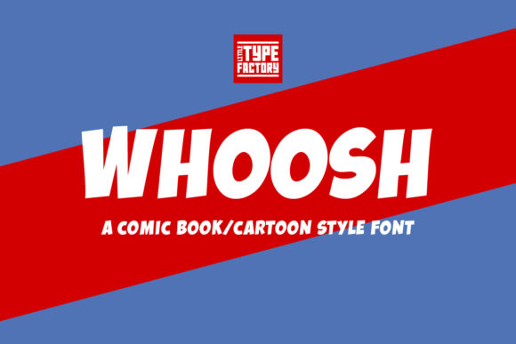 Print on Demand: Whoosh Display Font By Little Type Factory - Image 10