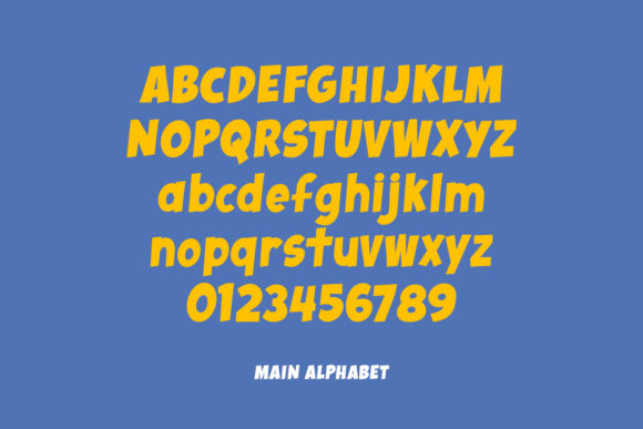 Print on Demand: Whoosh Display Font By Little Type Factory - Image 2