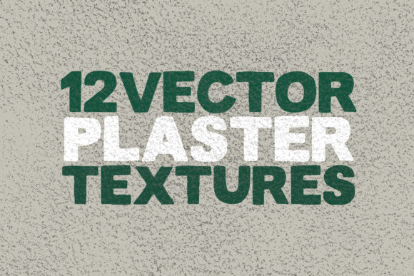 12 Vector Plaster Textures Graphic Textures By SmartDesigns