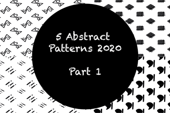 7 Abstract Patterns 2020 Graphic Patterns By hamelinckmichael