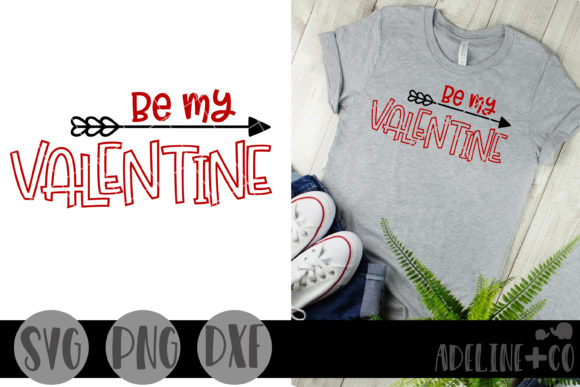 Be My Valentine Graphic Crafts By adelinenco