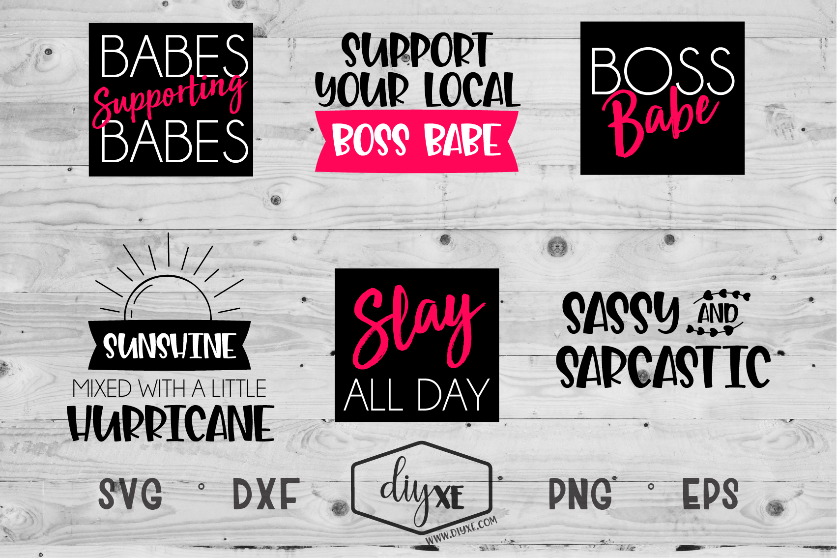 Download Free Boss Babe Bundle Graphic By Sheryl Holst Creative Fabrica for Cricut Explore, Silhouette and other cutting machines.