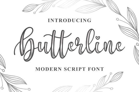 Print on Demand: Butterline Script & Handwritten Font By Blankids Studio