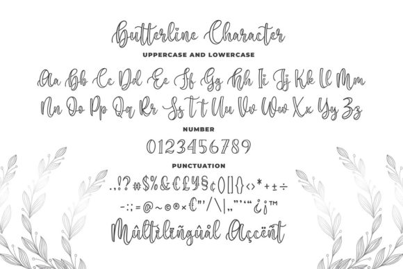 Print on Demand: Butterline Script & Handwritten Font By Blankids Studio - Image 5