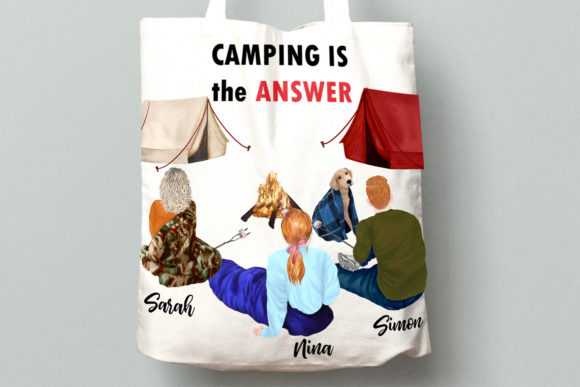 Camping Clipart Graphic Illustrations By LeCoqDesign - Image 8