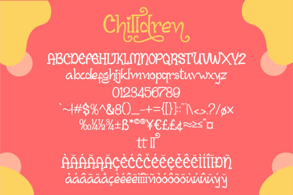 Print on Demand: Chilldren Script & Handwritten Font By lhotive - Image 6