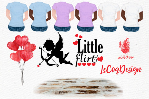 Couples Clipart Graphic Illustrations By LeCoqDesign - Image 3