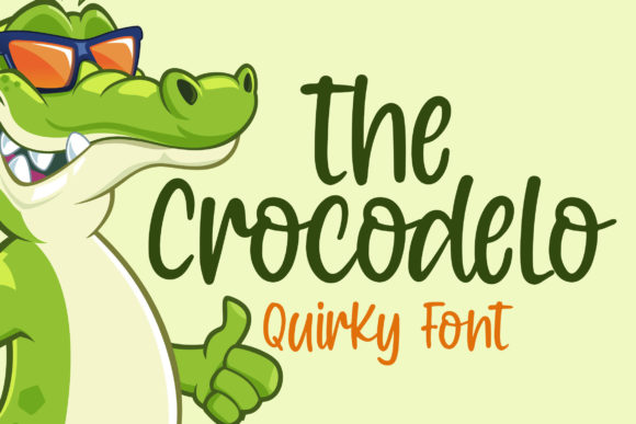 Print on Demand: Crocodelo Script & Handwritten Font By Blankids Studio