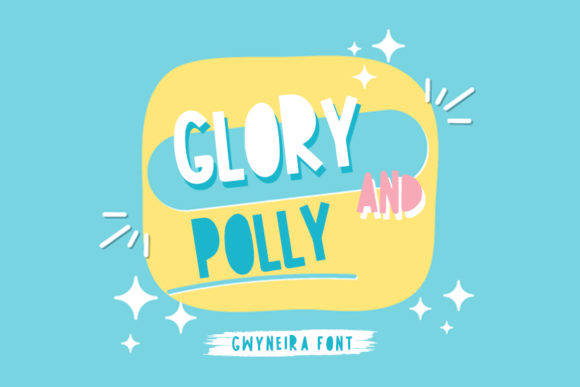 Print on Demand: Glory and Polly Script & Handwritten Font By a.gwyneira