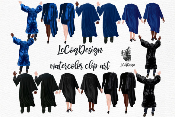 Graduation Clipart Graphic Illustrations By LeCoqDesign - Image 2