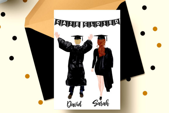 Graduation Clipart Graphic Illustrations By LeCoqDesign - Image 5