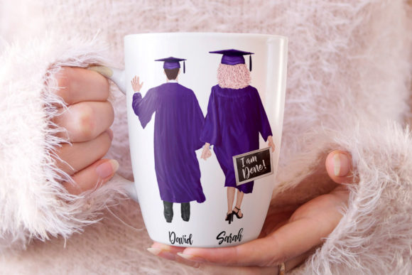 Graduation Clipart Graphic Illustrations By LeCoqDesign - Image 6