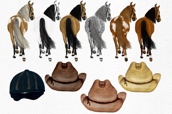 Horseback Riding Clipart Graphic Illustrations By LeCoqDesign - Image 5