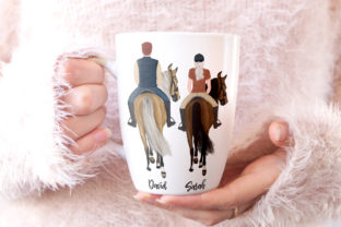 Print on Demand: Horseback Riding Graphic Illustrations By LeCoqDesign 7