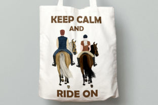 Print on Demand: Horseback Riding Graphic Illustrations By LeCoqDesign 9