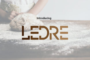 Print on Demand: Ledre Display Font By da_only_aan