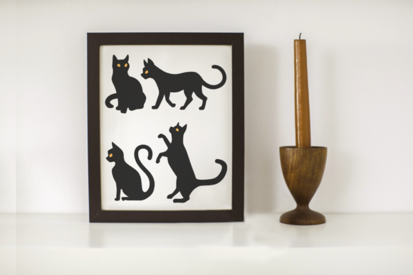 Download Free Minimalist Cats Graphic By Designedbygeeks Creative Fabrica for Cricut Explore, Silhouette and other cutting machines.