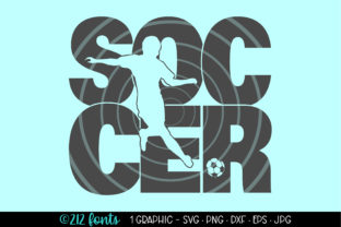 Print on Demand: Soccer Boys  Graphic Clip Art Graphic Illustrations By 212 Fonts