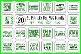 Download Free St Patrick S Day Designs Bundle Graphic By Graphicsbooth for Cricut Explore, Silhouette and other cutting machines.