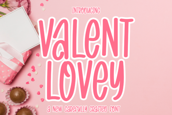 Print on Demand: Valent Lovey Script & Handwritten Font By MJB Letters - Image 1
