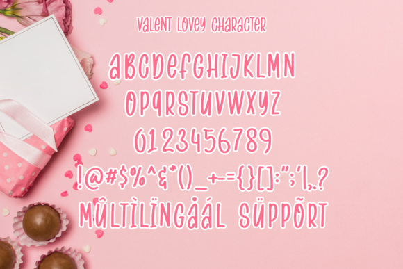 Print on Demand: Valent Lovey Script & Handwritten Font By MJB Letters - Image 9