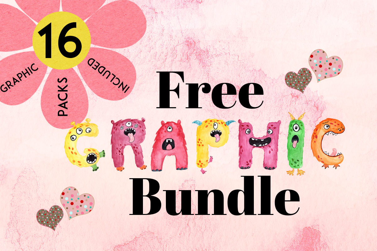 Download Free The Free Graphics Bundle Bundle Creative Fabrica SVG Cut Files