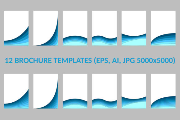 12 Brochure Templates Graphic Print Templates By davidzydd