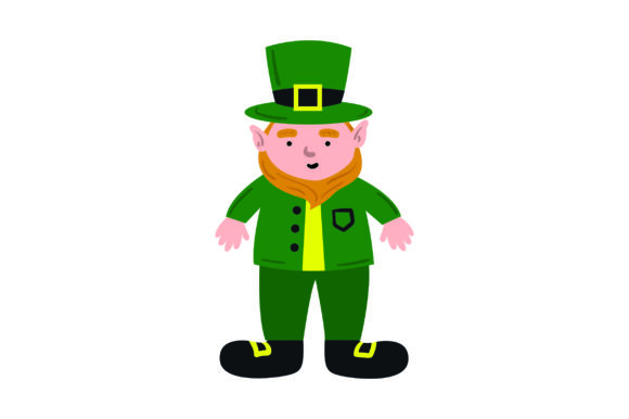 Leprechaun Saint Patrick's Day Craft Cut File By Creative Fabrica Crafts - Image 1