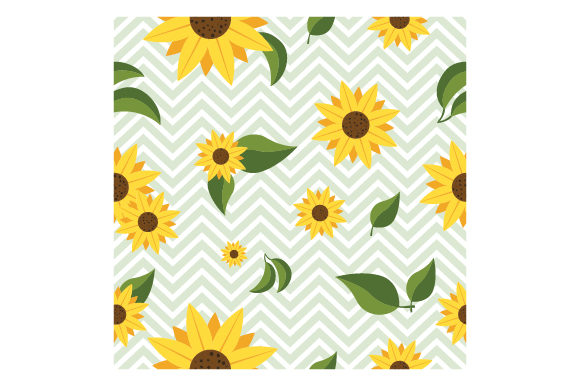 Download Free Chevron Sunflower Pattern Svg Cut File By Creative Fabrica for Cricut Explore, Silhouette and other cutting machines.
