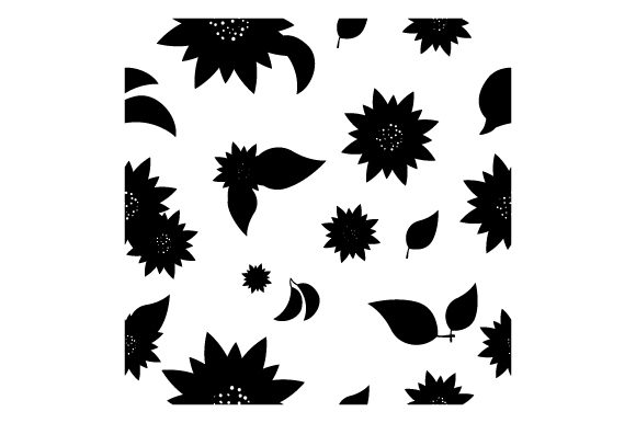 Chevron Sunflower Pattern Designs & Drawings Craft Cut File By Creative Fabrica Crafts - Image 2