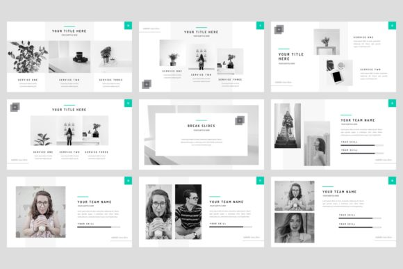 Download Free Base Minimal Powerpoint Template Graphic By Stringlabs for Cricut Explore, Silhouette and other cutting machines.