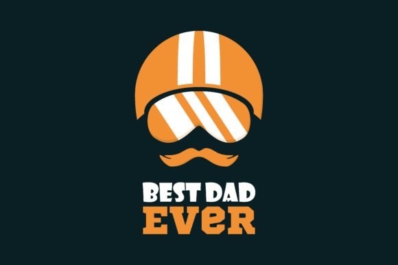 Download Free Best Dad Ever Graphic By Chairul Ma Arif Creative Fabrica for Cricut Explore, Silhouette and other cutting machines.