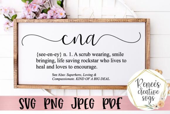 Download Free Cna Definition Graphic By Reneescreativesvgs Creative Fabrica for Cricut Explore, Silhouette and other cutting machines.