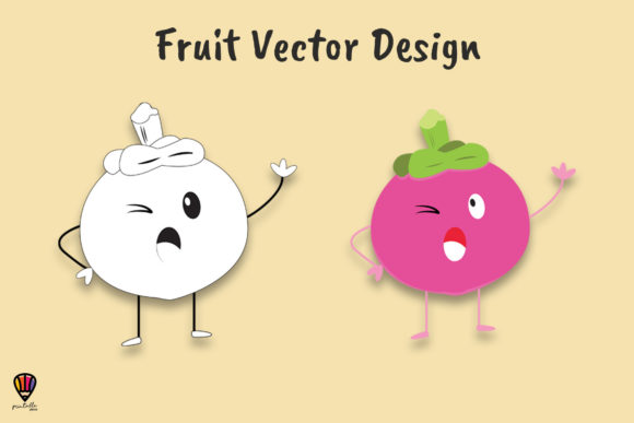 Download Free Cartoon Grape Vector Illustration Graphic By Printablesplazza for Cricut Explore, Silhouette and other cutting machines.