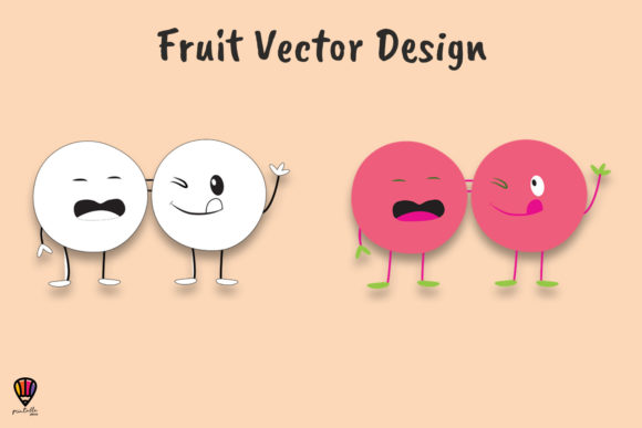 Download Free Cartoon Beetroot Vector Illustration Graphic By Printablesplazza for Cricut Explore, Silhouette and other cutting machines.