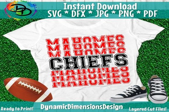 Chiefs Mahomes Graphic Crafts By dynamicdimensions