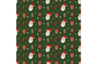 Download Free Christmas Seamless Pattern Wallpaper B Graphic By Firdausm601 Creative Fabrica for Cricut Explore, Silhouette and other cutting machines.