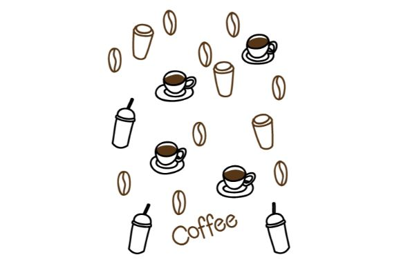 Coffee Doodle Vector Art Graphic By Firdausm601 Creative Fabrica