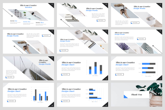 Download Free Dynamic Creative Powerpoint Template Graphic By Stringlabs for Cricut Explore, Silhouette and other cutting machines.
