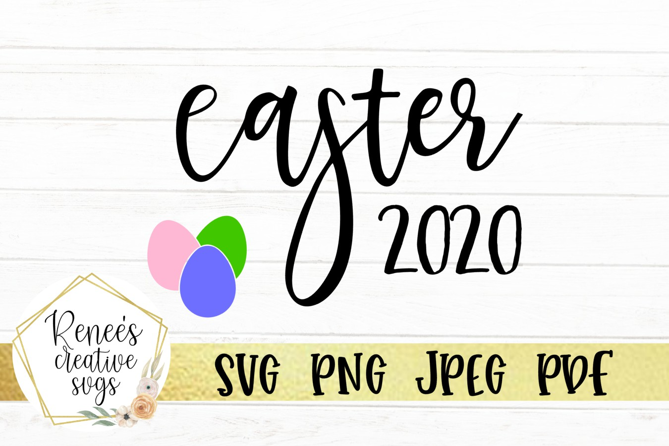 Easter 2020 Graphic By Reneescreativesvgs Creative Fabrica
