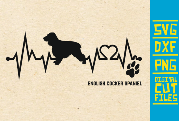 Download Free English Cocker Spaniel Dog Svg Graphic By Svgyeahyouknowme for Cricut Explore, Silhouette and other cutting machines.