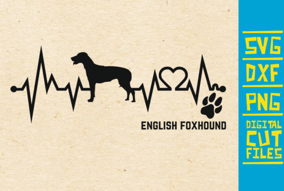 Download Free English Foxhound Dog Svg Graphic By Svgyeahyouknowme Creative for Cricut Explore, Silhouette and other cutting machines.