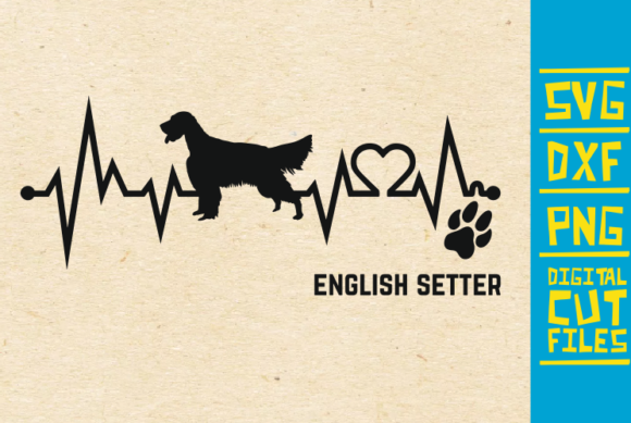 Download Free English Setter Dog Svg Graphic By Svgyeahyouknowme Creative for Cricut Explore, Silhouette and other cutting machines.